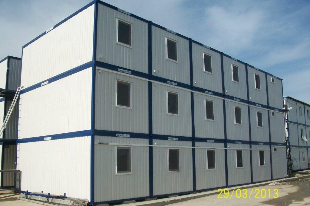 B timent modulaire b timent temporaire b timent for Batiment container