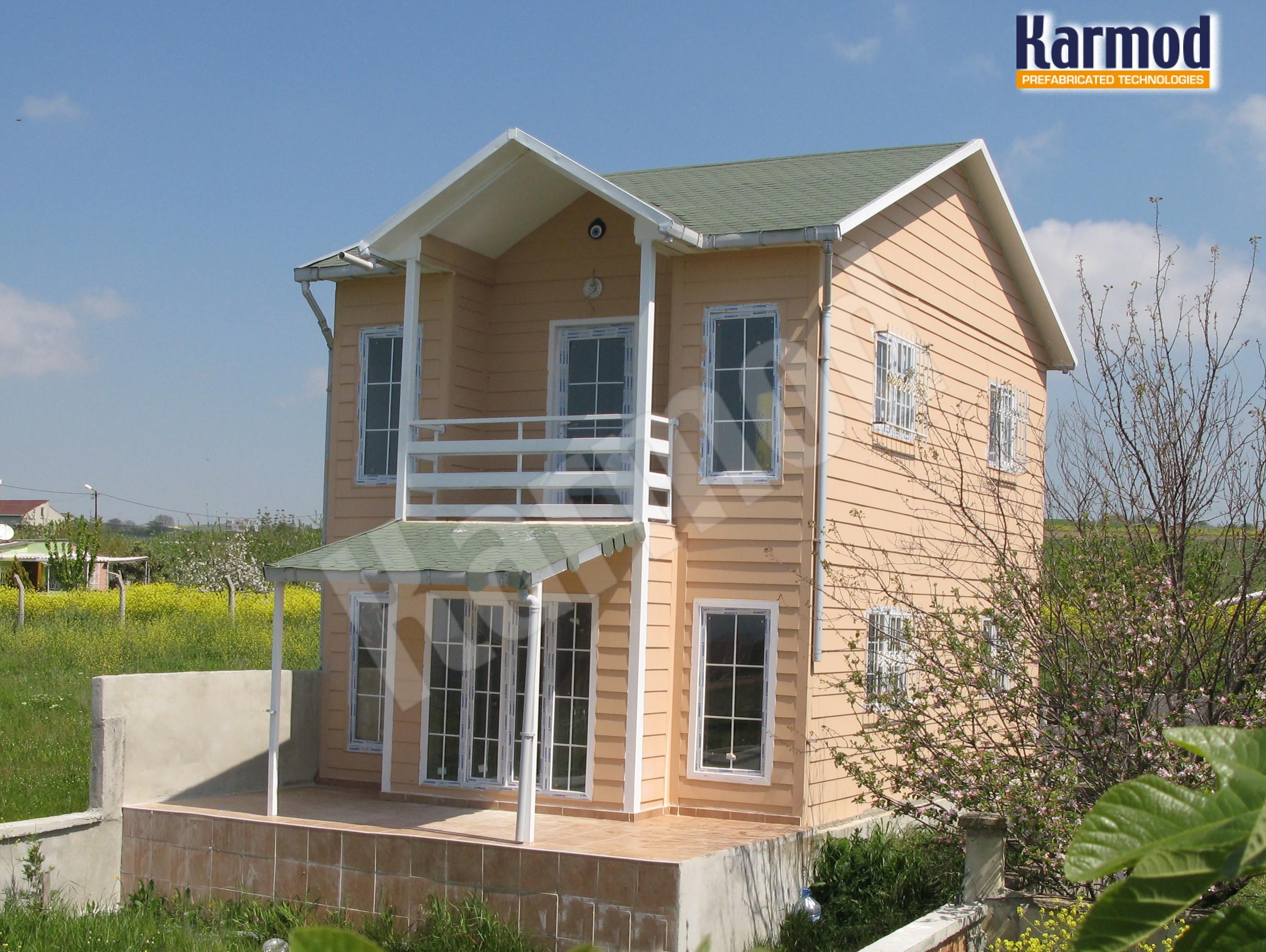 duplex-villa-habitation-préfabriqué