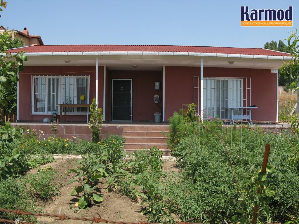 angola maison prefabrique