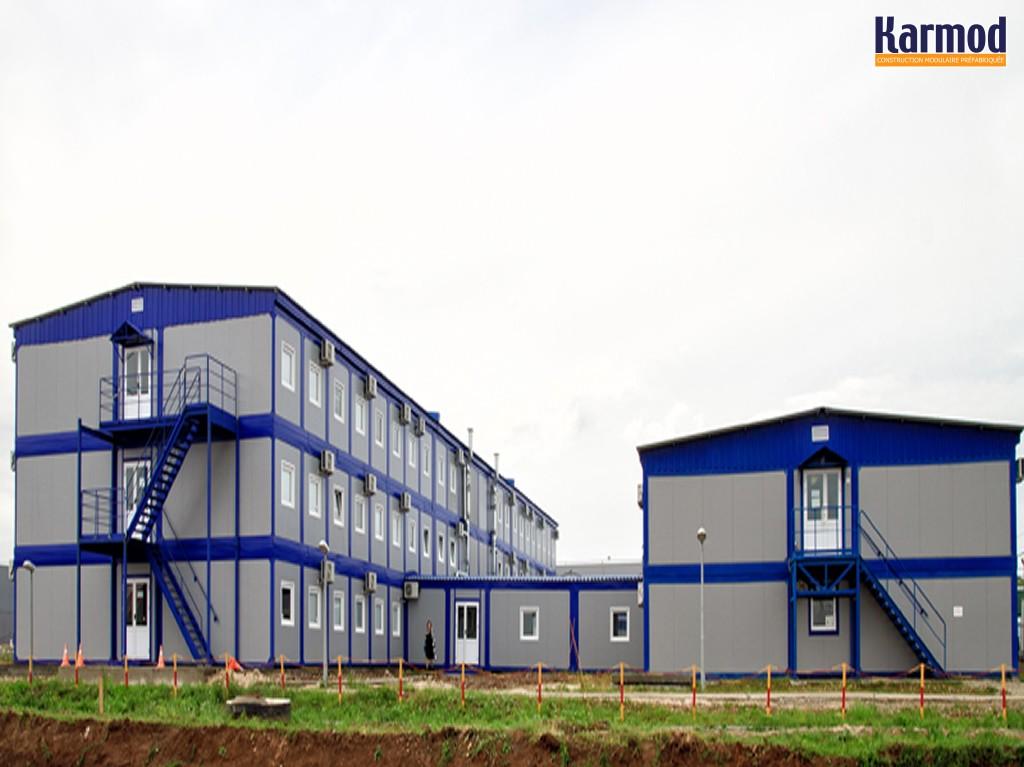 baraque de chantier algerie conteneur cabine de chantier karmod. Black Bedroom Furniture Sets. Home Design Ideas