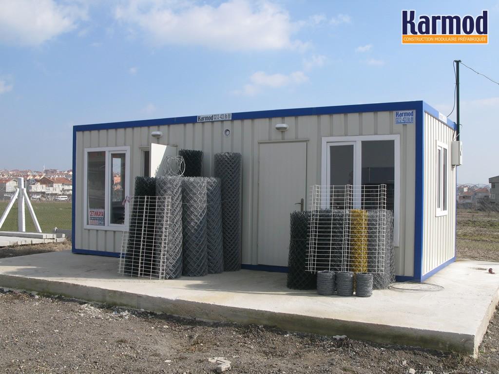 Construction modulaire conteneur container modulable for Structure conteneur