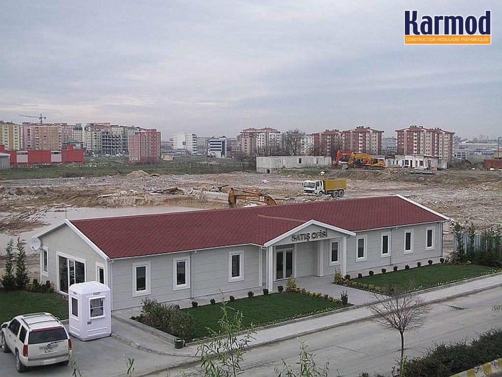 immeubles de bureaux modulaires pr fabriqu es kazakhstan karmod. Black Bedroom Furniture Sets. Home Design Ideas