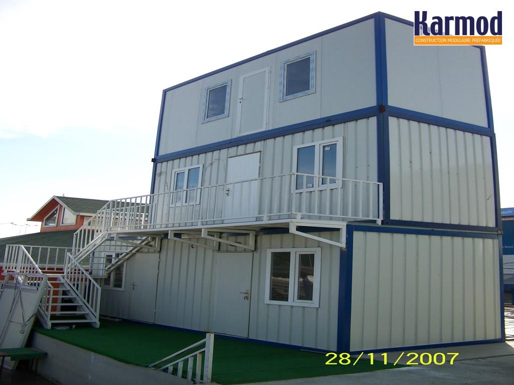 Conteneurs de stockage du site et conteneurs de stockage maisons karmod - Bungalow bureau occasion ...