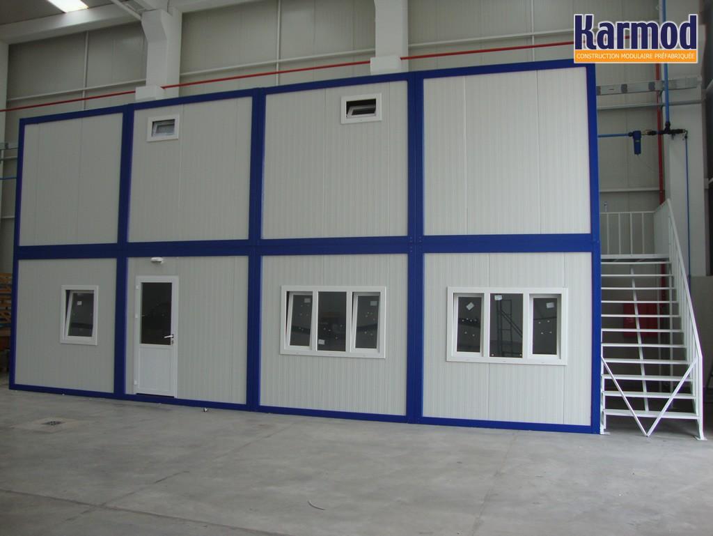 conteneur de stockage bureaux mobiles les salles de classe de stockage remorque karmod