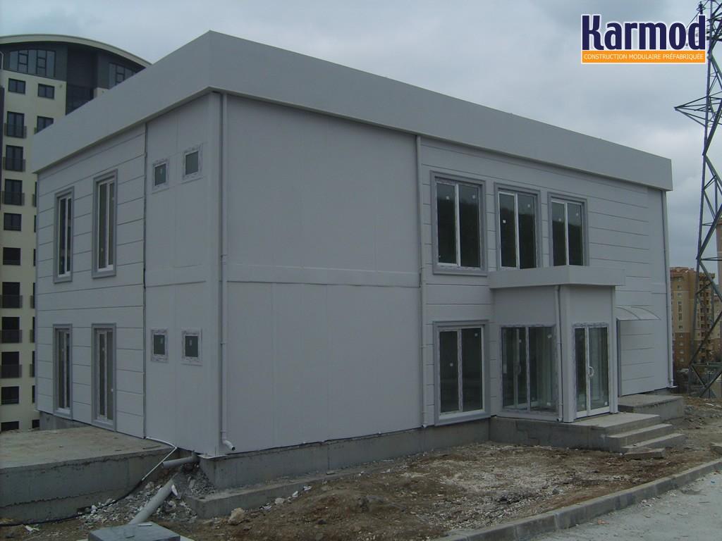Karmod unit s mobiles de bureau bureau modulaire b timents et espace de bureau karmod for Module prefabrique maison