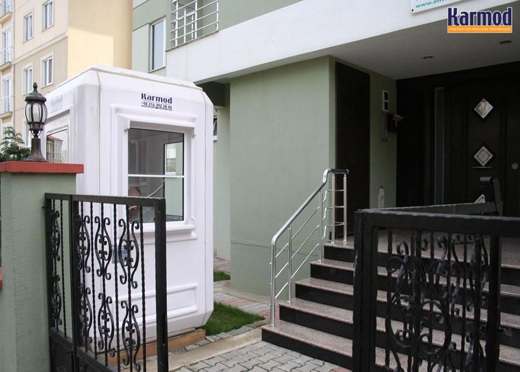 cabines de s curit frp portables karmod. Black Bedroom Furniture Sets. Home Design Ideas