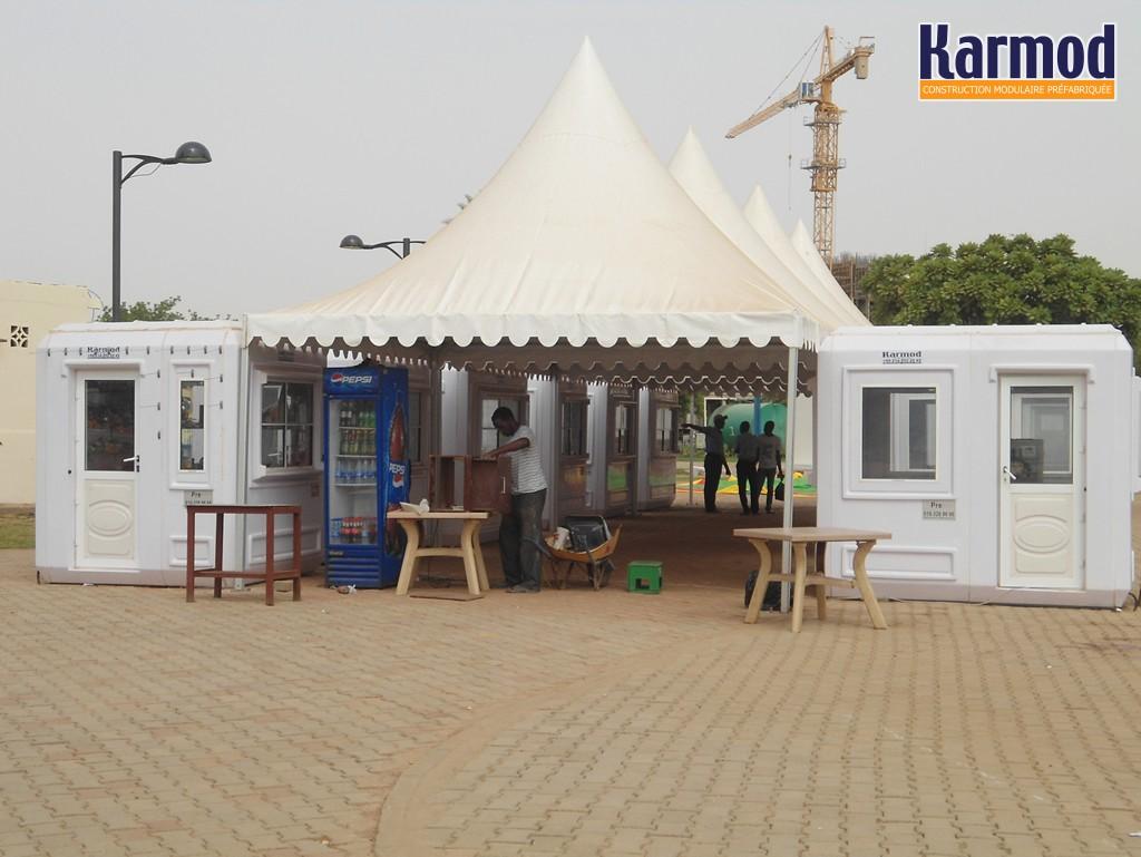 cabine de chantier tunisie prix maison conteneur tunisie karmod. Black Bedroom Furniture Sets. Home Design Ideas