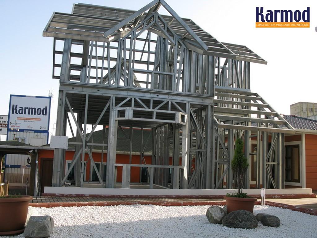 b timents de logements en acier fabriqu s et modulaires