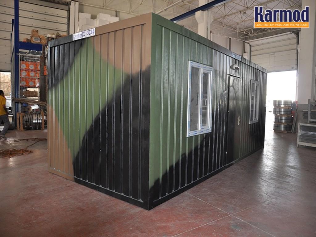 Conteneurs pour l 39 arm e militaire systemes abris mobile for Construction container