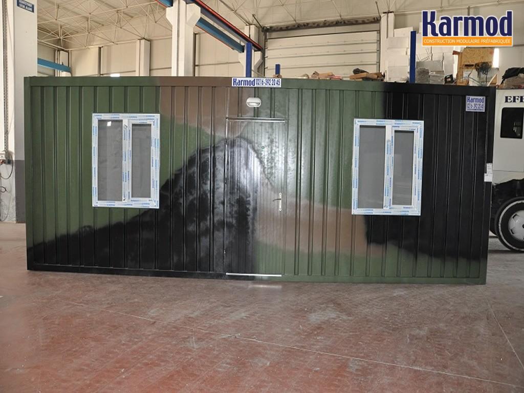 Conteneurs pour l 39 arm e militaire systemes abris mobile for Construction conteneur