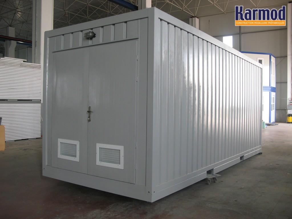 conteneurs pour l 39 arm e militaire systemes abris mobile. Black Bedroom Furniture Sets. Home Design Ideas