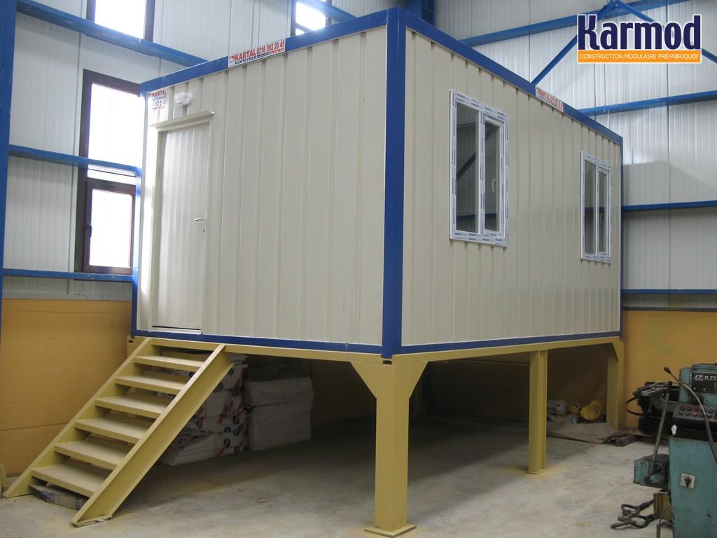 dimension bungalow chantier