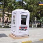 kiosque de vente prefabrique