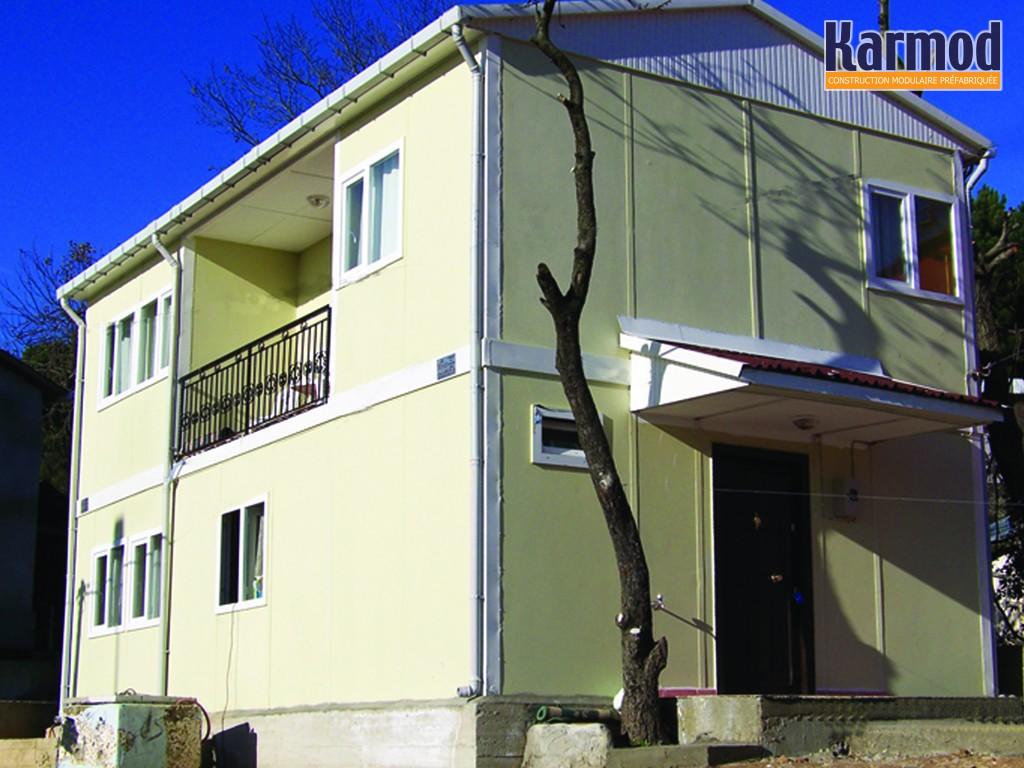 Logement pr fabriqu r sidence logement conteneur karmod for Maison optimum conteneur