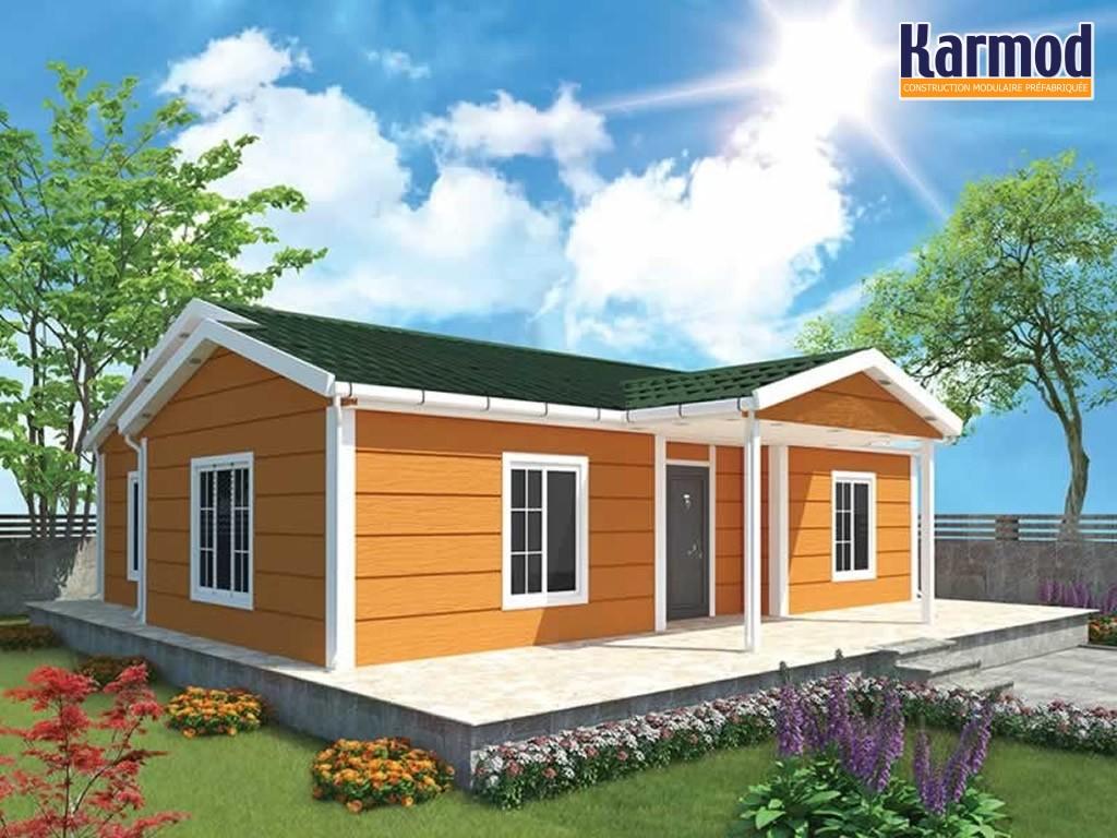 Abordable pr fabriqu fabricant de projets de logements - Maison modulaire bois prix ...