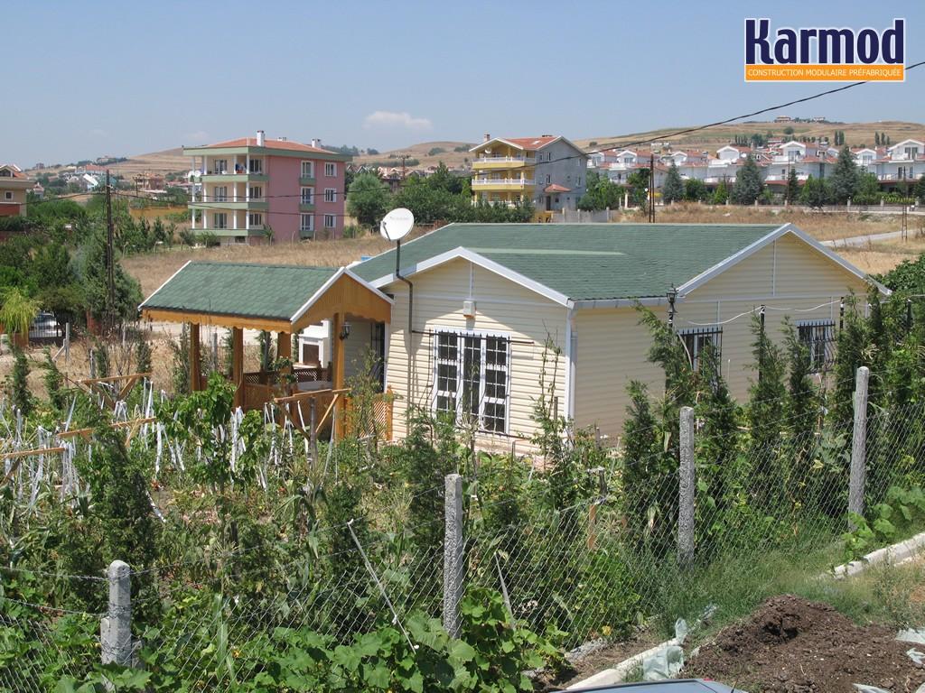 Modulaire maison composite conception de chalets for Site de conception de maison