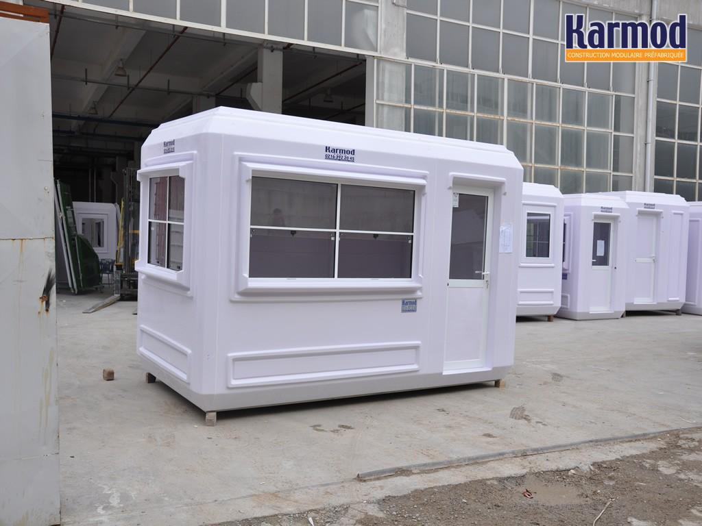 Cabines cabines bureau portable les cabines de garde de s curit de billets de cabine karmod - Mobile toilette ...