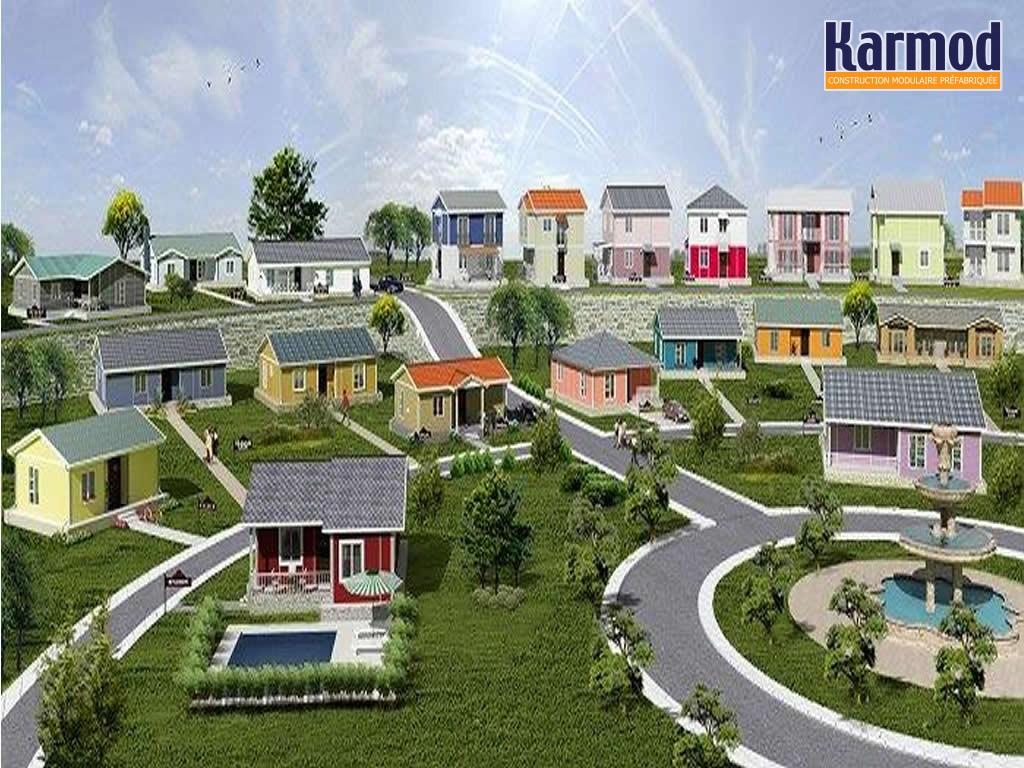 Logements sociaux pr fabriqu s construction modulaire karmod karmod - Prix maison modulaire bodard ...
