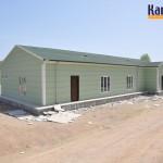 projet bungalows prefabriques