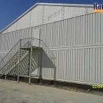 projet hangar prefabrique