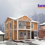 maison préfabriquée moderne