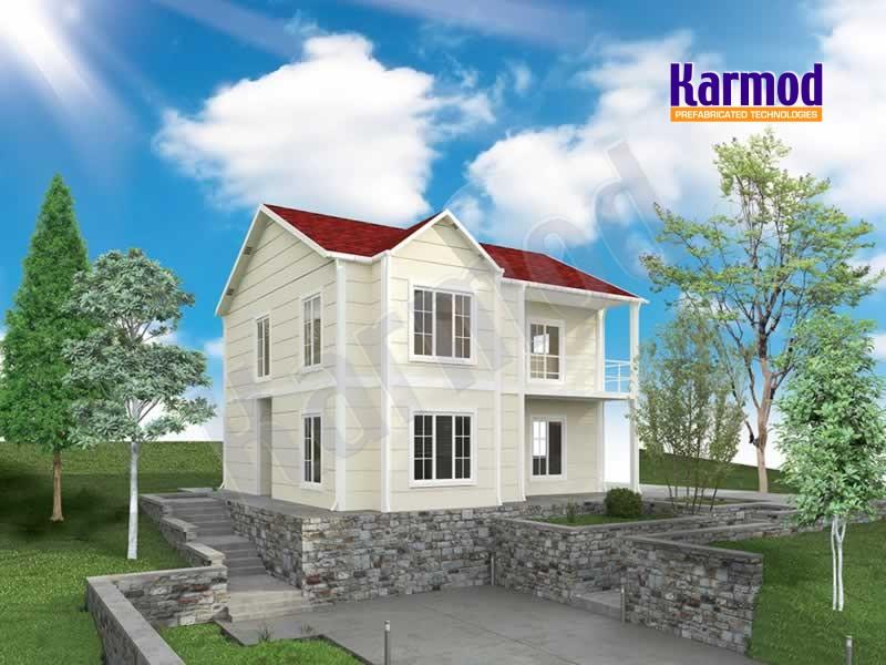 Maisons pr fabriqu es maison pr fabriqu modulaire karmod karmod for Prefabrique maison