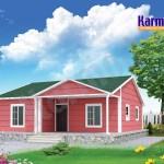maisons préfabriquées contemporaines