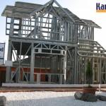 structure acier prefabrique