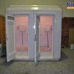 toilettes mobiles prefabrique