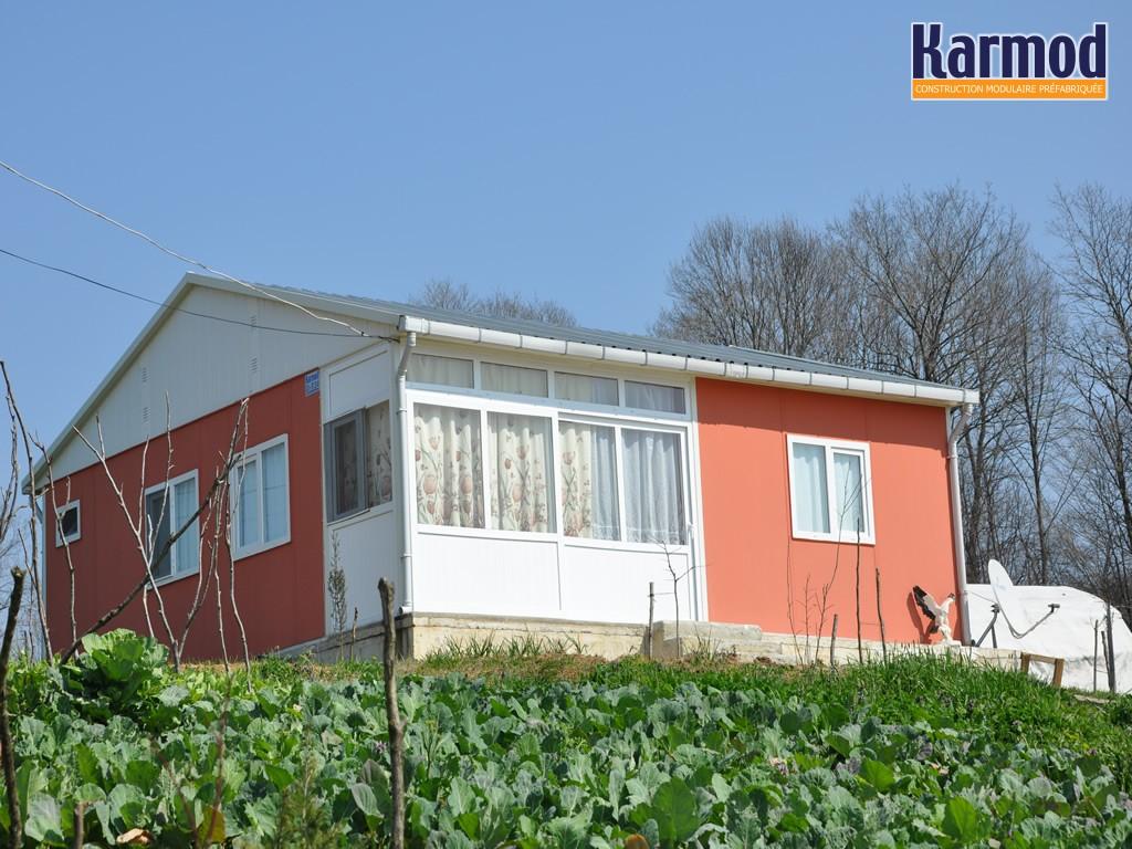 maison kit prefabrique