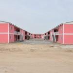 maisons préfabriquées localement Sociaux
