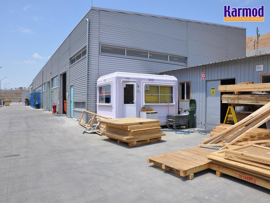 construire kiosque prefabrique