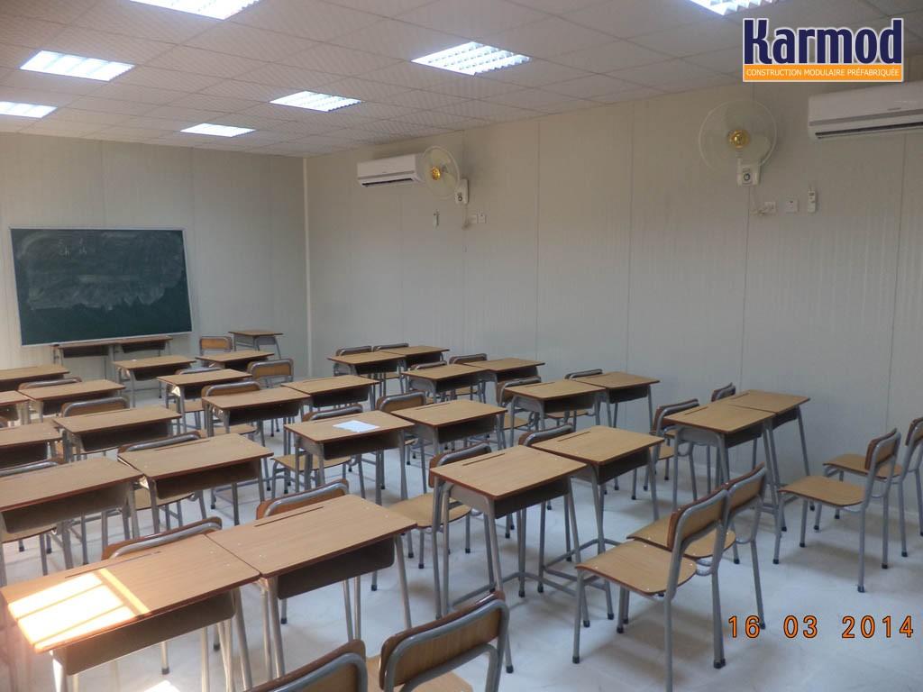 Ecoles Prefabriquees Batiment Scolaire Modulaire Karmod Karmod