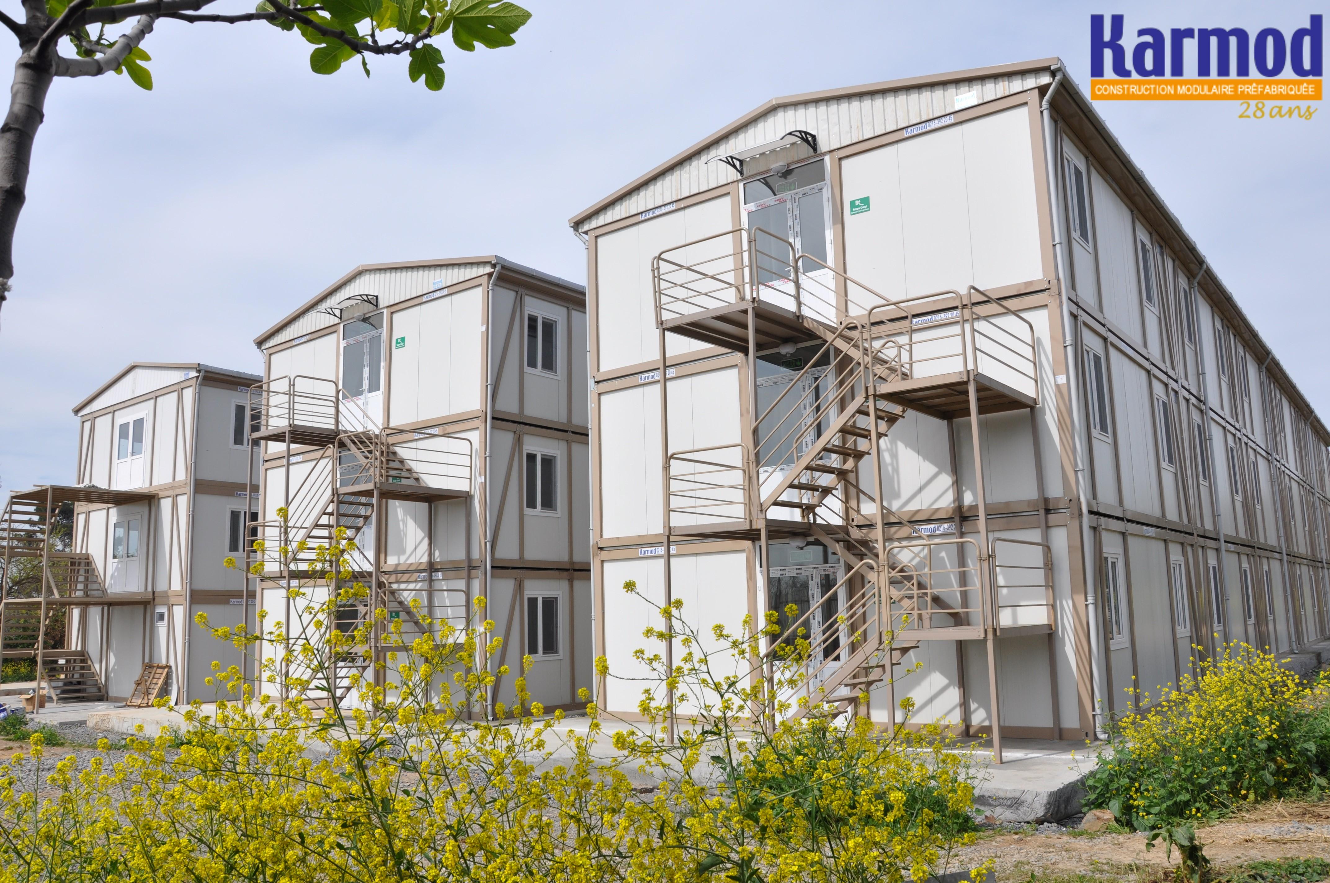 Maison conteneur for Structure conteneur