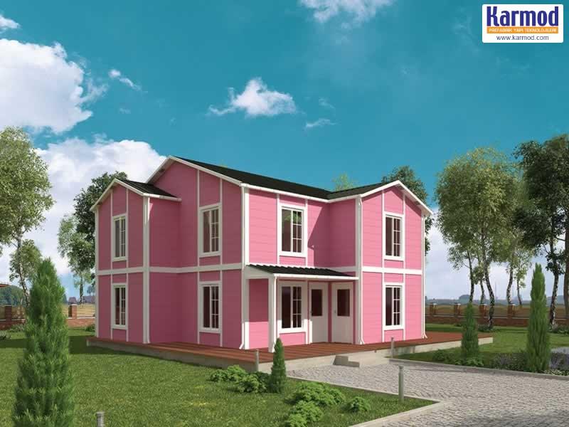 bâtiments modulaires préfabriquées