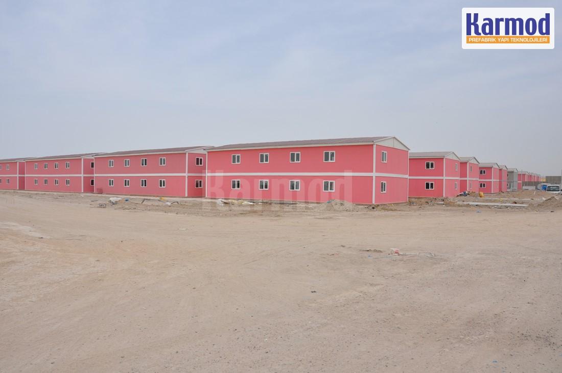 Tchad Construction maison préfabriqué