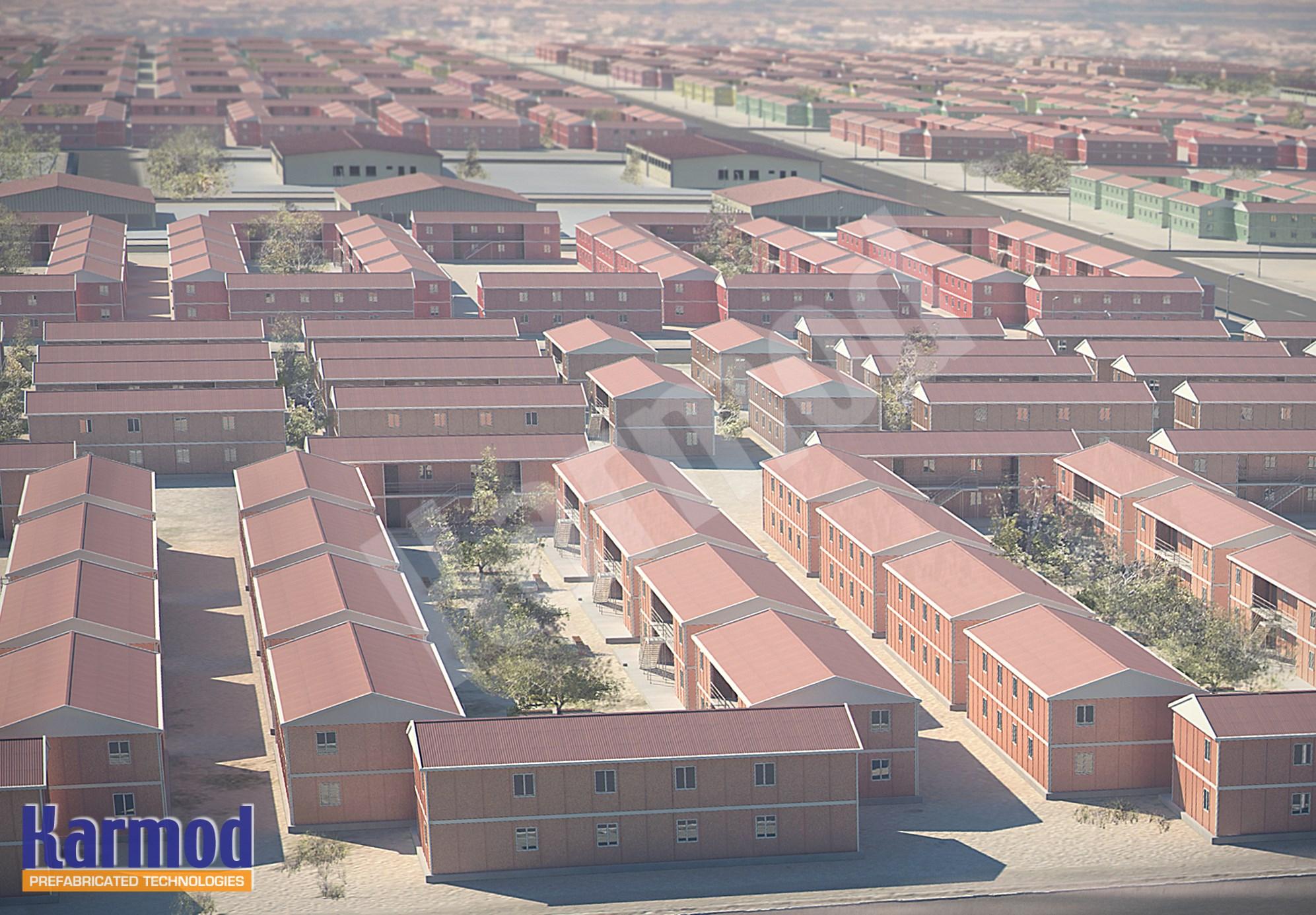 Bénin Construction maison préfabriqué