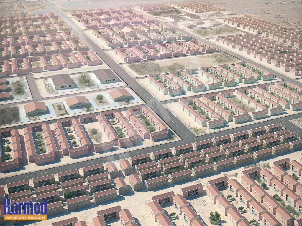 Maroc Construction maison préfabriqué