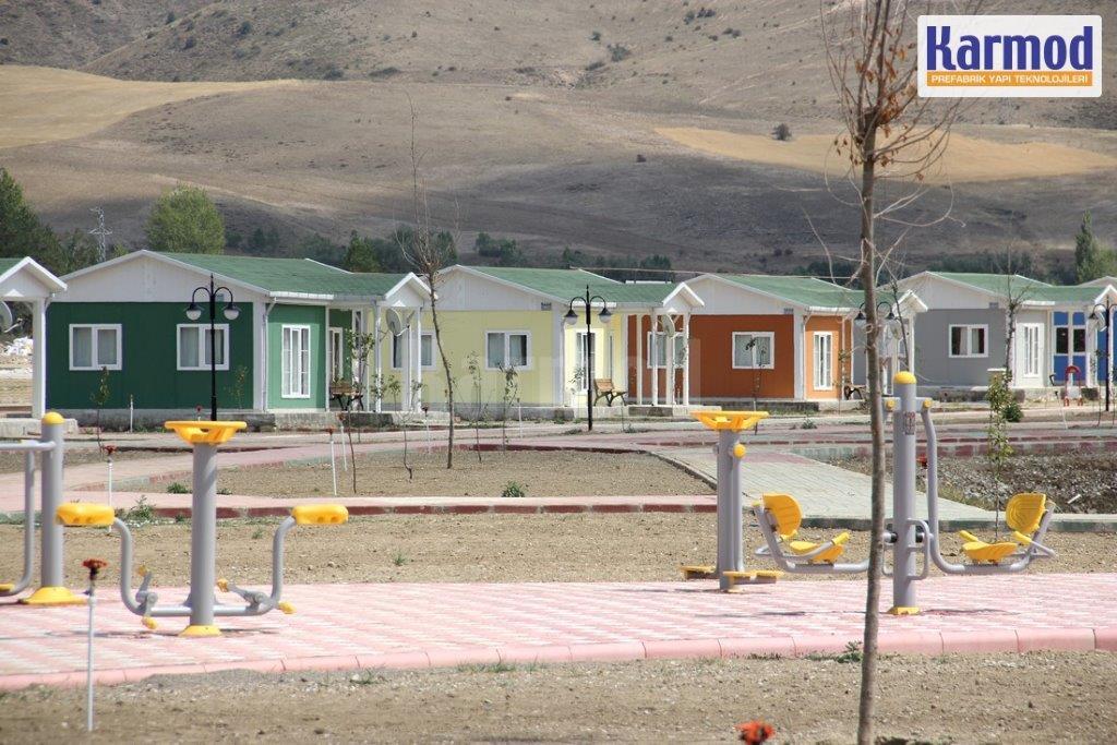 maison préfabriquée togo