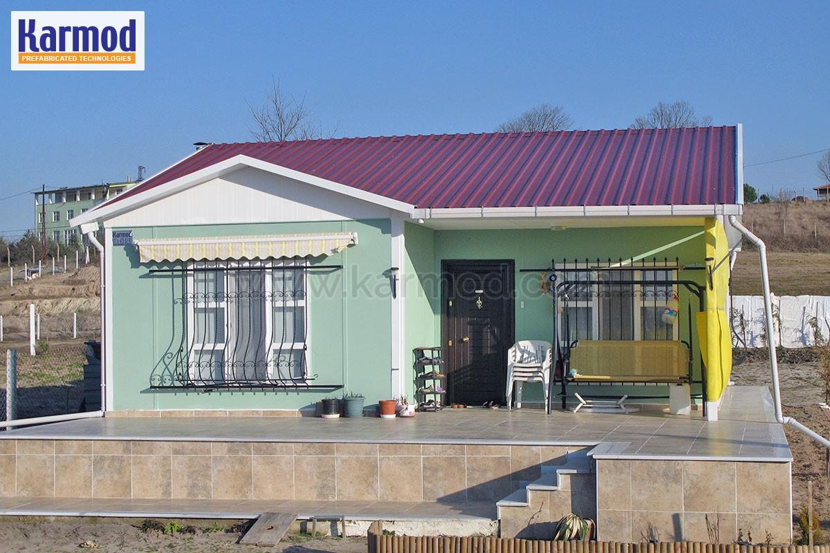 Maison pr fabriqu e cameroun construction maison karmod for Logement prefabrique