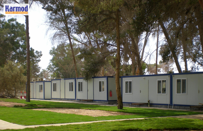 bâtiment modulaire et bureau temporaire