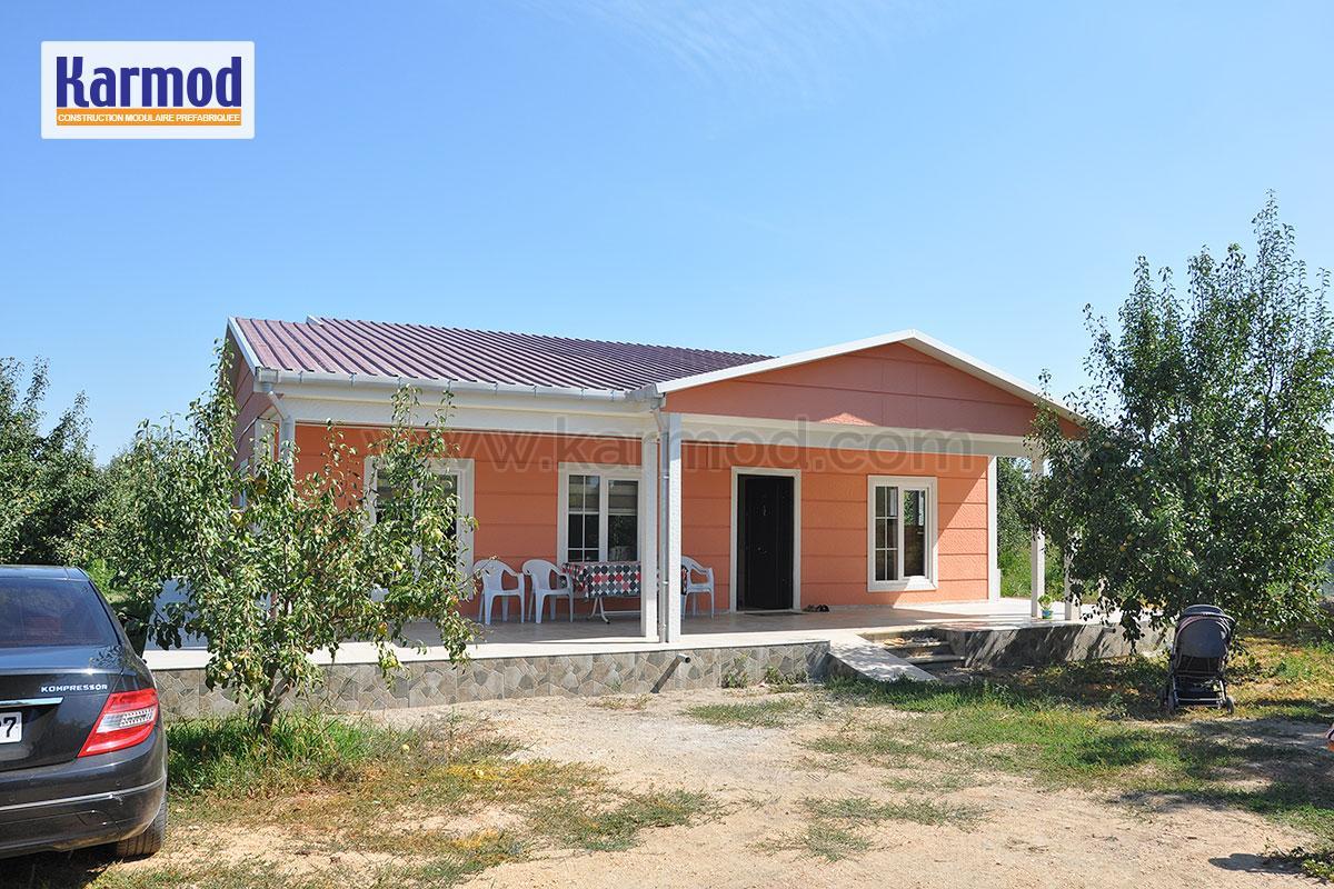 maison pr fabriqu e tunisie construction m tallique maison karmod