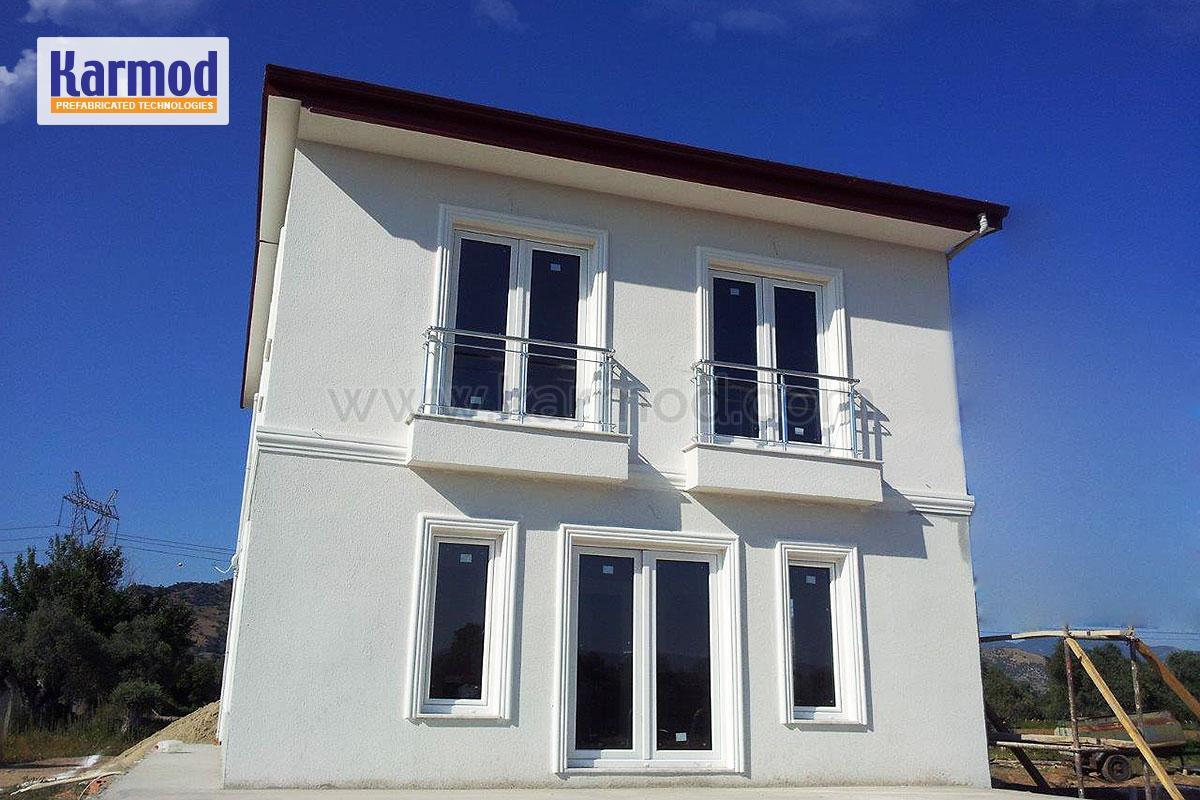 Maison metallique prix maison ossature metallique prix for Porte metallique exterieure