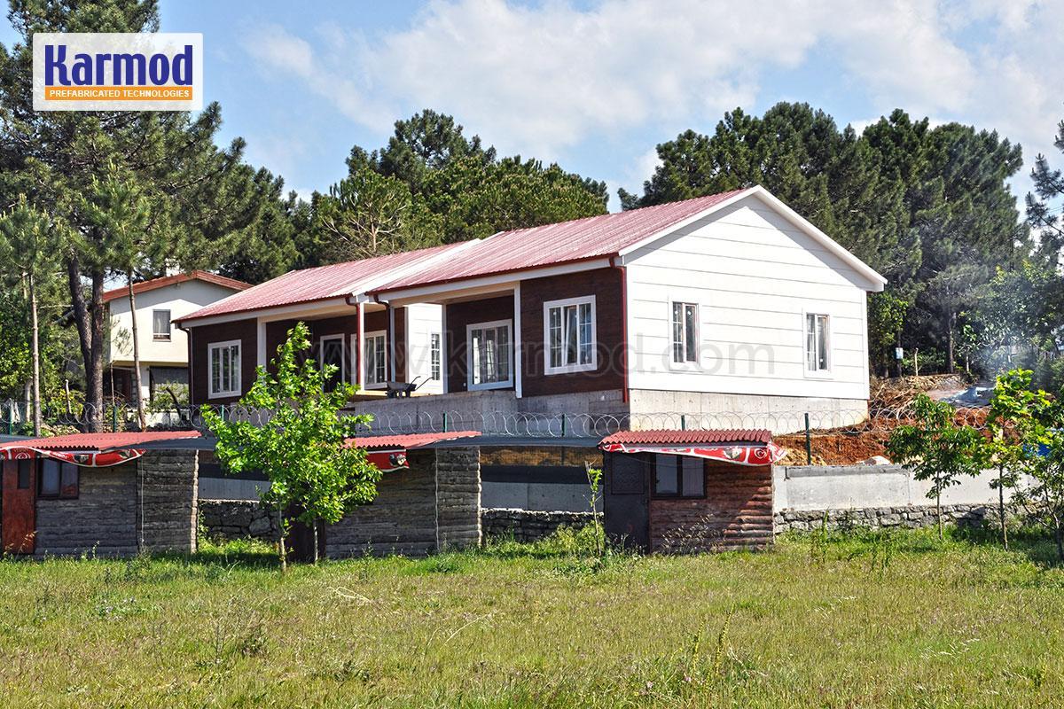 métallique maison individuelle