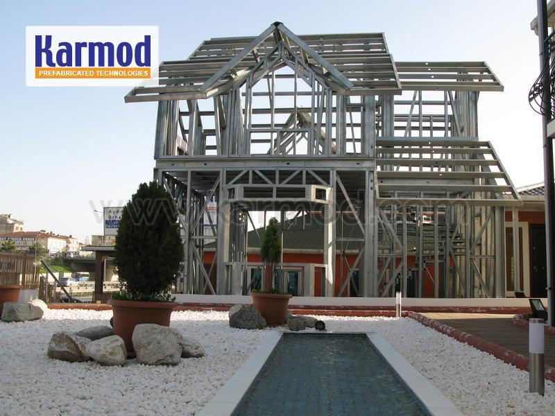 Construction de maisons à ossature métallique