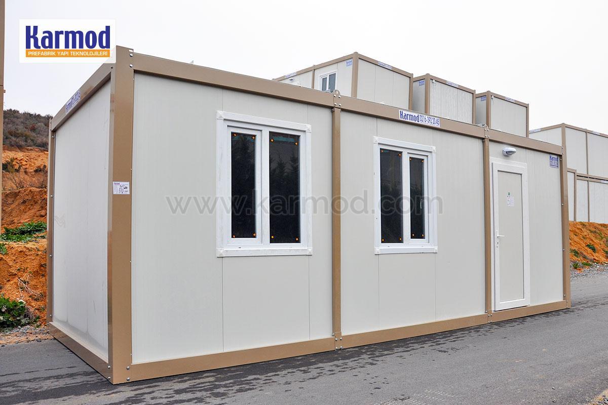 maison container conteneur chantier bureau sanitaire karmod karmod. Black Bedroom Furniture Sets. Home Design Ideas