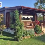 maison en bois maroc