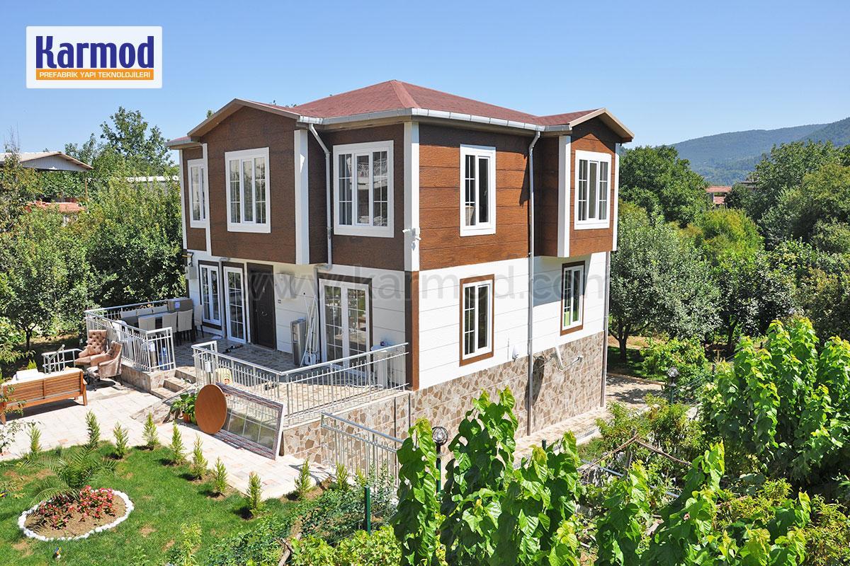 Maison en bois maroc maison en bois pr fabriqu e en usine karmod - Maison bois prefabriquee prix ...