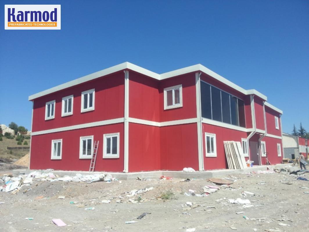 bureau de chantier maroc