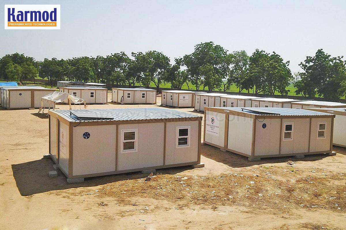 Batiment modulaire maroc bungalow de chantier casablanca for Batiment container